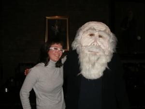 Here I meet Darwin