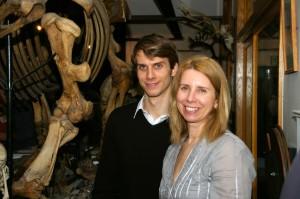 Dani & Ani in the museum.