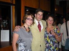 Me, John Van Wyhe, and Rebecca Stott.