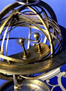 An Copernican armillary sphere from the collection.