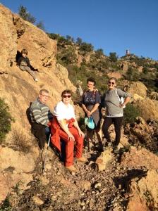 My hiking companions.