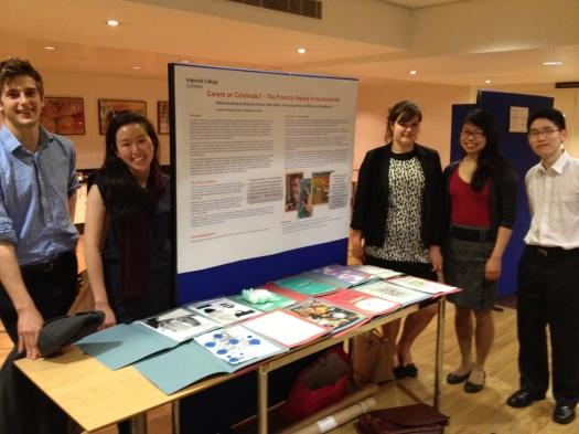 Imperial College London Medical Humanities student at the 2013 Symposium on Poetry & Medicine, London.
