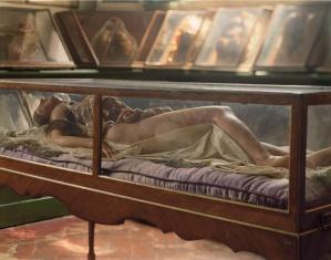 Photo by Tanya Marcuse. Anatomical Venus, Florence, Museo La Specola.