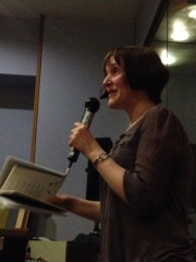 Lorraine Mariner reading from Pocket Horizon.